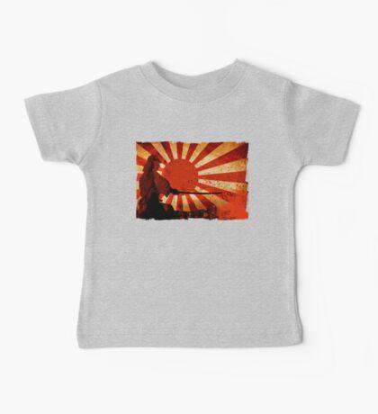 Samurai Sun Baby Tee