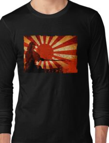 Samurai Sun Long Sleeve T-Shirt