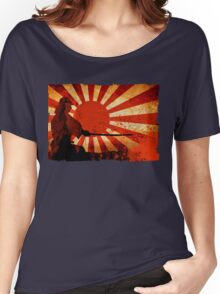 Samurai Sun Women's Relaxed Fit T-Shirt