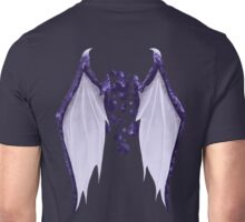 Purple dragon wings Unisex T-Shirt
