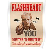 FLASHHEART WANTS YOU Poster