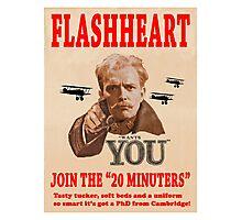 FLASHHEART WANTS YOU Photographic Print