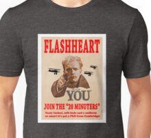 FLASHHEART WANTS YOU Unisex T-Shirt