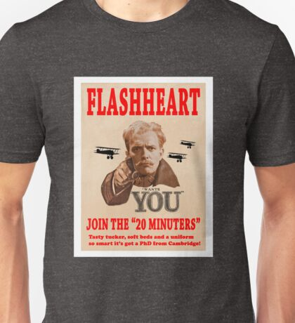 FLASHHEART WANTS YOU Unisex T-Shirt