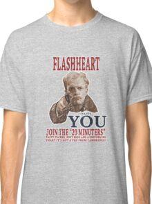 FLASH HEART WANTS YOU (2) Classic T-Shirt