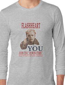 FLASH HEART WANTS YOU (2) Long Sleeve T-Shirt