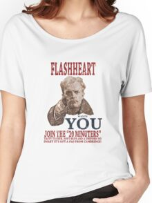 FLASH HEART WANTS YOU (2) Women's Relaxed Fit T-Shirt