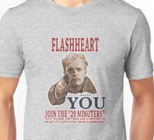 FLASH HEART WANTS YOU (2) Unisex T-Shirt
