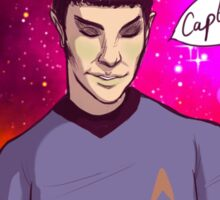 Spock <3 Kirk Sticker