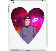 Spock <3 Kirk iPad Case/Skin