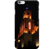 La Matriz Church at Night iPhone Case/Skin
