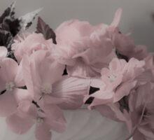 A Soft Serving Of Begonias Sticker