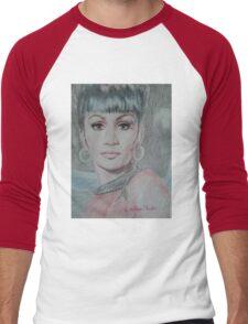 Uhura, She Walks In Beauty Men's Baseball ¾ T-Shirt