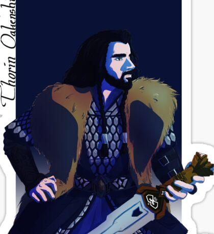 Thorin Oakenshield Sticker