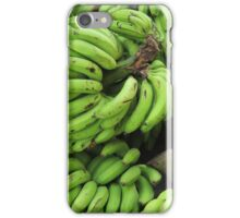 Stalks of Fresh Bananas iPhone Case/Skin