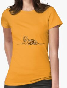 tigr1 Womens Fitted T-Shirt