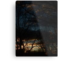 January Sunset (1620) Metal Print