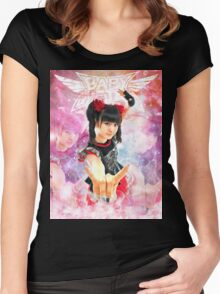 BABYMETAL - ANGEL OF LOVE Women's Fitted Scoop T-Shirt