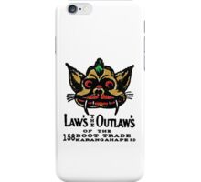 law's the outlaw's iPhone Case/Skin