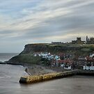 Whitby Harbour by Sarah Couzens