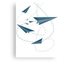 Paper Darts / Planes Metal Print
