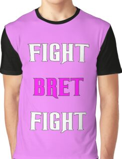Support Bret Hart and Prostate cancer Graphic T-Shirt