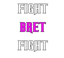 Support Bret Hart and Prostate cancer Photographic Print