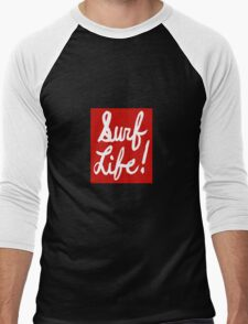 Surf is a state of mind Men's Baseball ¾ T-Shirt