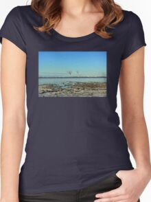 Freezing North Sea Women's Fitted Scoop T-Shirt