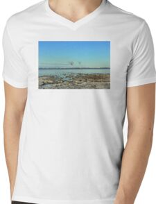 Freezing North Sea Mens V-Neck T-Shirt