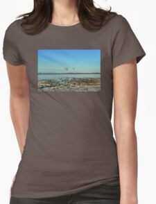 Freezing North Sea Womens Fitted T-Shirt