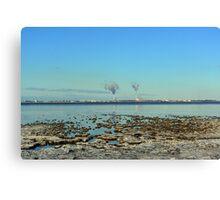 Freezing North Sea Canvas Print