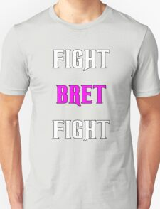 Support Bret Hart and Prostate cancer T-Shirt