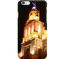 Light Shining on the Matriz Church iPhone Case/Skin