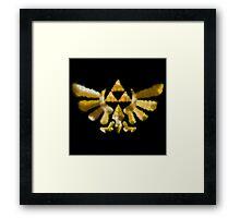 The Golden Power Framed Print