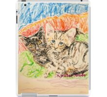 Two Kittens iPad Case/Skin