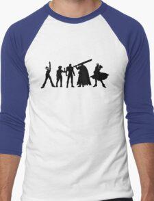 Manime Men's Baseball ¾ T-Shirt