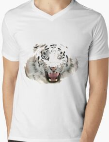 Tigr2 Mens V-Neck T-Shirt