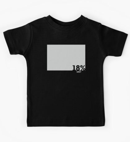 18% Grey Test Tee Kids Tee