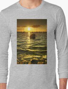 West Mersea Sunset Long Sleeve T-Shirt