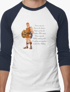 Hercules  Men's Baseball ¾ T-Shirt