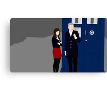 Doctor Who S8 Canvas Print