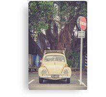 VW Bug Canvas Print