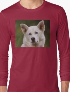 Working Dog Portrait Long Sleeve T-Shirt