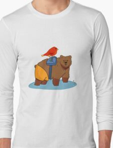 Real life Banjo Kazooie  Long Sleeve T-Shirt