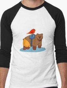 Real life Banjo Kazooie  Men's Baseball ¾ T-Shirt
