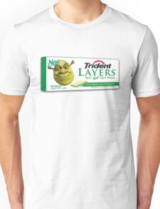 Shrek-Gum Trident Layers Unisex T-Shirt