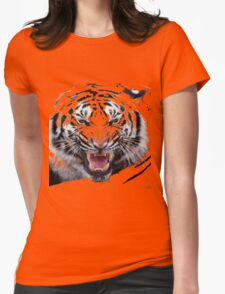 Tigr3 Womens Fitted T-Shirt