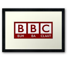 BBC - Bumba Claat Framed Print