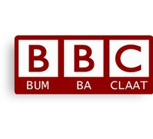 BBC - Bumba Claat Canvas Print